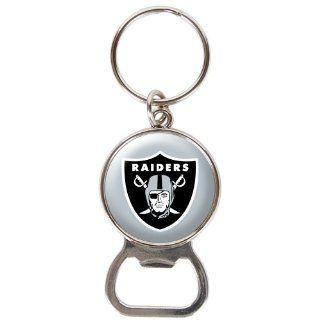 Oakland Raiders   NFL Bottle Opener Keychain  Sports Related Key Chains  Sports & Outdoors