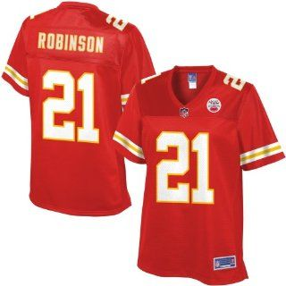 Pro Line Womens Kansas City Chiefs Dunta Robinson Team Color Jersey  Sports Fan Apparel  Sports & Outdoors