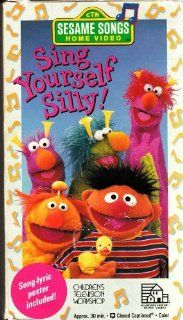 Sesame Songs   Sing Yourself Silly [VHS] Random House Home Video Movies & TV