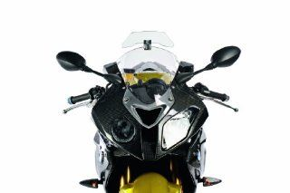 Wunderlich Universal Motorcycle Fully Adjustable Windshield Wind Deflector, Smoked Version Automotive