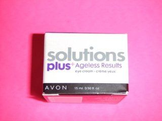 Avon Solutions plus+ Ageless Results Eye Cream  Eye Puffiness Treatments  Beauty