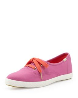 Keds Canvas Pointer Sneaker, Bougainvillea Pink   kate spade new york