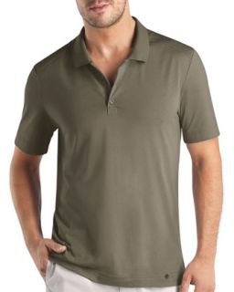 Mens Night & Day Polo Shirt, Khaki   Hanro   Khaki (LARGE)