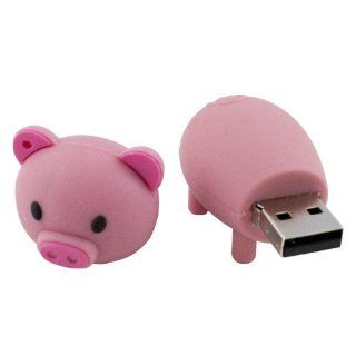 Generic US Pink Portable Fashion Cute Cartoon Pig 16GB USB Flash Drive Disk Momery Stick Pink Computers & Accessories