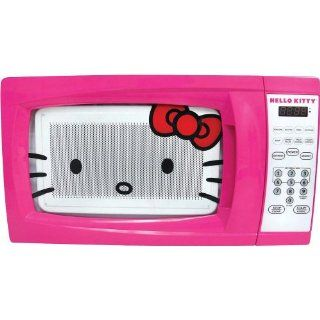 Hello Kitty MW 07009 Microwave Oven, 0.7 Cubic Feet Kitchen & Dining
