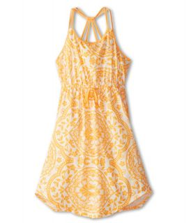 Roxy Kids Just Begun Dress Girls Dress (Orange)
