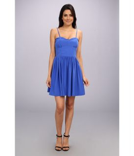 Amanda Uprichard Mimosa Dress Womens Dress (Blue)