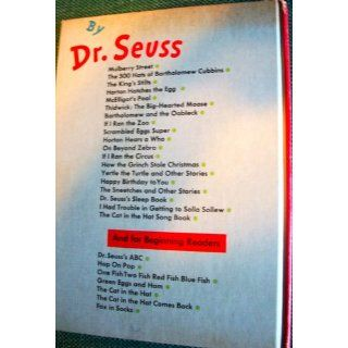 Happy Birthday to You (9780394800769) Dr. Seuss Books