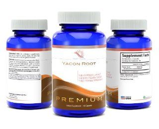 Yacon Root ExtractCapsules  NOT SYRUPFat Burner for Women and MenBoost MetabolismBurns FatPure Premium 1000mgSafe And Effective for Natural Weight LossAs Seen On The Dr OZ ShowThe Peruvian Cleanse DietMade in USA Hea