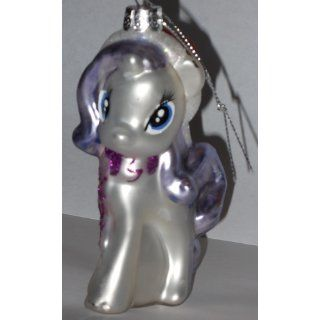 My Little Pony Kurt Adler Glass Rarity Ornament   Christmas Ball Ornaments