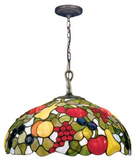 Dale Tiffany Fruit with Jewels Hanging Light   16W in.   Pendant Lights