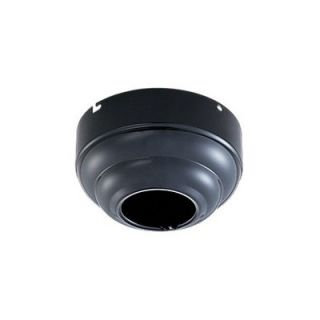 Monte Carlo Fan Company Slope Ceiling Canopy Adapter in Black Gloss