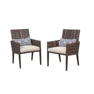 Hampton Bay Raynham Patio Dining Chairs (Set of 2) DY12091 D