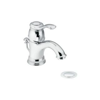 Kingsley Single Lever Handle Single Hole Bathroom Faucet by Moen