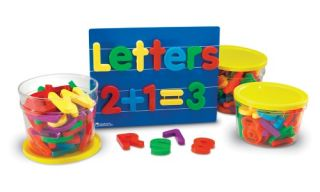 Learning Resources Jumbo Magnetic Letters & Numbers Bundle   Learning and Educational Toys