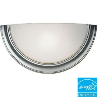 Progress Lighting Eclipse Collection Brushed Steel 1 Light Wall Sconce DISCONTINUED P7171 13STRWB