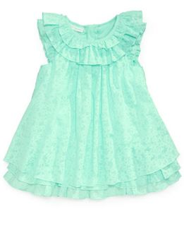 First Impressions Baby Girls Burnout Dress