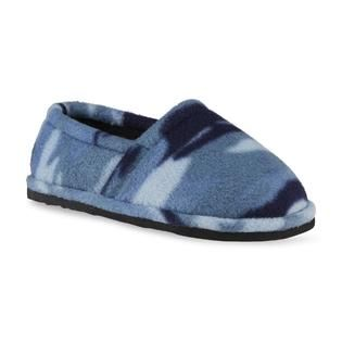 Route 66 Boys Gunner Blue Camouflage Indoor/Outdoor Slipper