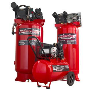Speedway Start to Finish 5HP 80 Gallon Vertical Two Stage Compressor