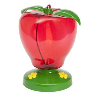 Garden Song Apple Hummingbird Feeder   Outdoor Living   Outdoor Decor