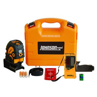 Johnson Level Self Leveling Combination Cross Line and 5 Beam Laser