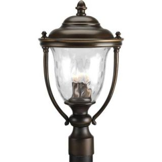 Progress Lighting Prestwick Collection 2 Light Outdoor Oil Rubbed Bronze Post Lantern P5465 108