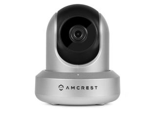 Amcrest IPM 721S WiFi Wireless IP Security Surveillance Camera System, HD Megapixel 720P (1280TVL)   Silver