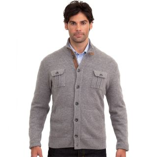 Luigi Baldo Italian Made Mens Cashmere Blend Cardigan