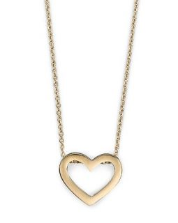 "Roberto Coin 18 Kt. Yellow Gold ""Tiny Treasure"" Heart Necklace, 18"""
