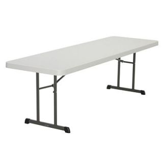 Lifetime 8 Professional Grade Folding Table, Almond