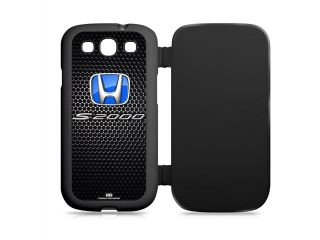 Honda S2000 Blue Logo Samsung Galaxy S3 Black Flip Cover Cell Phone Case
