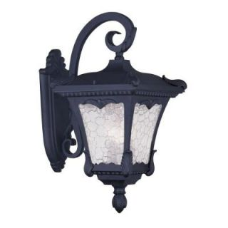 Filament Design Providence Wall Mount 3 Light Outdoor Black Incandescent Lantern CLI MEN7987 04