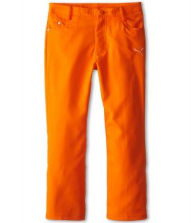 PUMA Golf Kids Five Pocket Pant (Big Kids) Vibrant Orange