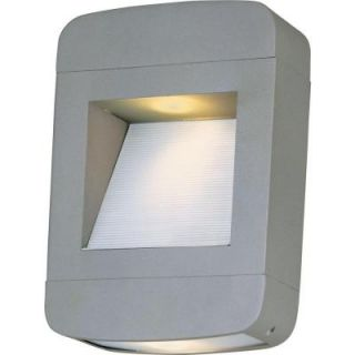 Filament Design Infinite Wall Mount 2 Light Outdoor Platinum Halogen Sconce HD MA43179849