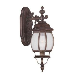 Filament Design Providence Wall Mount 1 Light Outdoor Imperial Bronze Incandescent Lantern CLI MEN7901 58