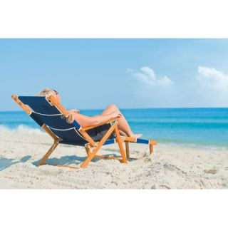 Oak Wood Commercial Grade Beach Chair by Frankford Umbrellas