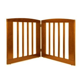 Dynamic Accents 2 panel 24 inch Tall Wood Pet Gate