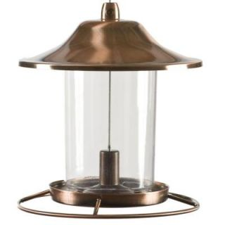 Perky Pet Copper Panorama Bird Feeder 312C