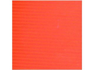"Bicolor Orange and Terra Cotta Red Striped Gift Wrap Crafting Paper 27"" x 328'"