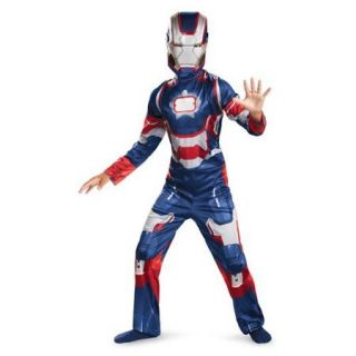 Boys Iron Man Patriot Classic Avengers Costume size Medium 7 8