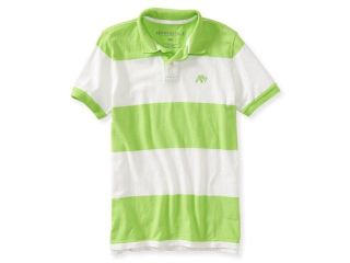 Aeropostale Mens A87 Stripe Rugby Polo Shirt 808 S