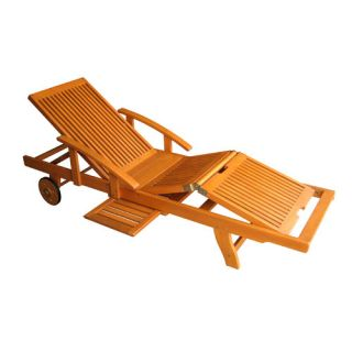 Bay Isle Home Dracaena Multi Position Outdoor Chaise Lounge