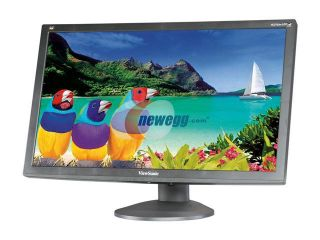 "ViewSonic Graphic Series VG2732m LED Black 27"" 3ms  Pivot, Swivel & Height Adjustable Widescreen LCD Monitor 300 cd/m2 DC 20,000,000:1 (1,200:1) Built in Speakers"