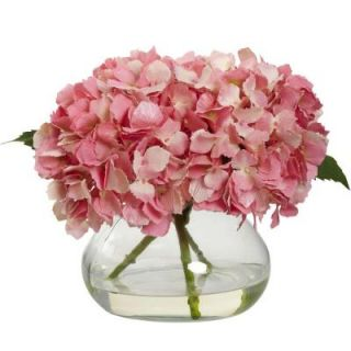 Nearly Natural Blooming Hydrangea with Vase 1356 PK