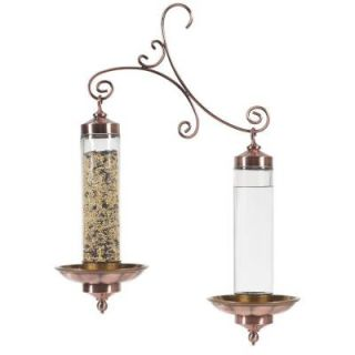Perky Pet Copper Sip and Seed Wild Bird Feeder 389