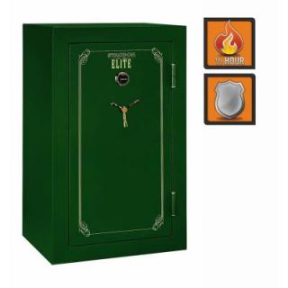 Stack On 36 Gun Elite 22 cu. ft. Fire Resistant Combo Lock Safe with Door Storage E 36 MG C S
