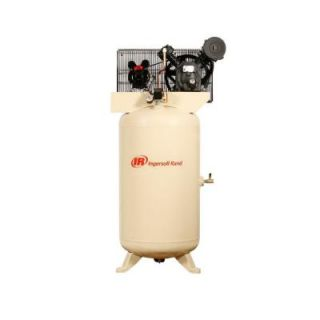 Ingersoll Rand Type 30 Reciprocating 80 Gal. 5 HP Electric 230 Volt, Single Phase Air Compressor 2340N5 V