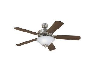 Sea Gull Lighting Quality Max Plus Ceiling Fans, Brushed Nickel   15040BLE 962