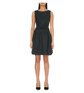 TED BAKER   Nuhad bow detail crepe dress