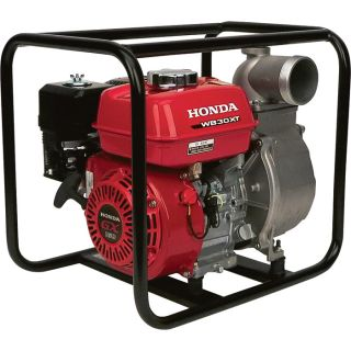 Honda Self-Priming Water Pump — 16,500 GPH, 3in. Ports, 160cc Honda GX160 Engine, Model# WB30XK2  Engine Driven Clear Water Pumps